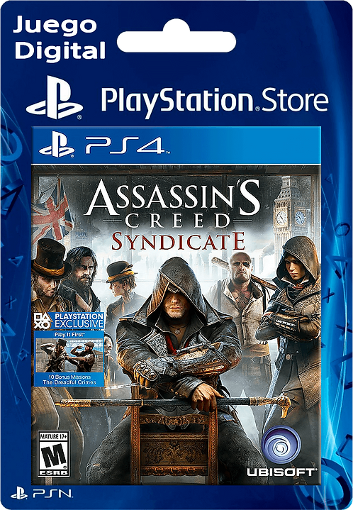 Assassin's Creed Syndicate Digital para PS4