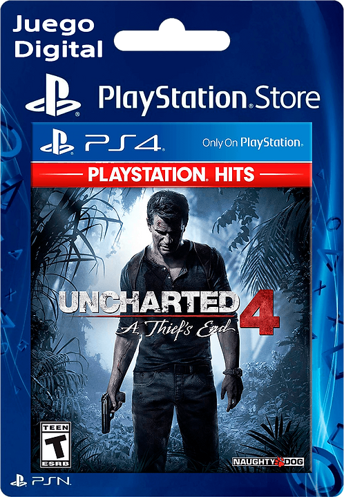 Uncharted 4: A Thief's End Digital para PS4