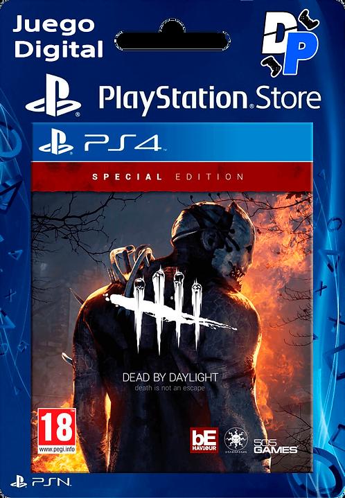 Edición especial de Dead by Daylight Digital PS4