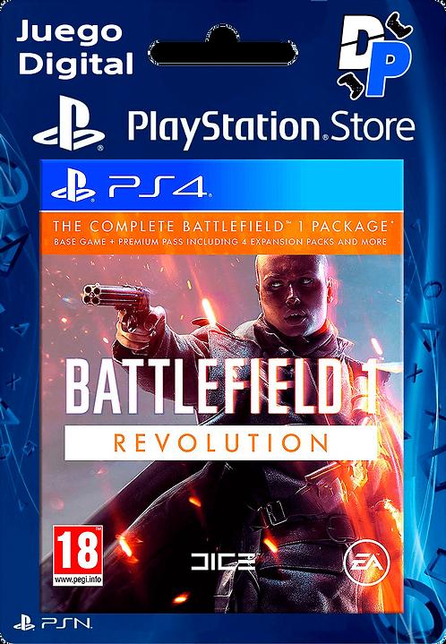 Battlefield 1 Revolution Digital para PS4