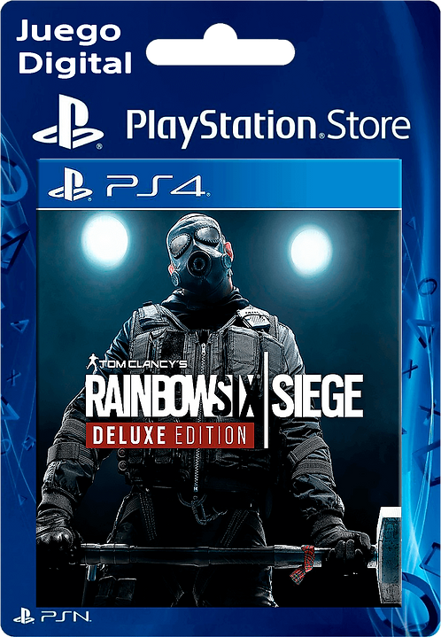 Tom Clancy's Rainbow Six Siege Deluxe Edition Digital PS4
