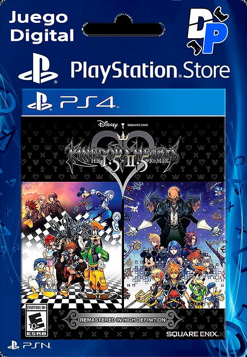 KINGDOM HEARTS HD 1.5 + 2.5 ReMIX Digital para PS4