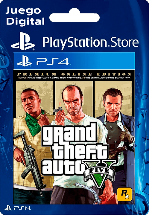 Grand Theft Auto V: Edición Online Premium Digital para PS4