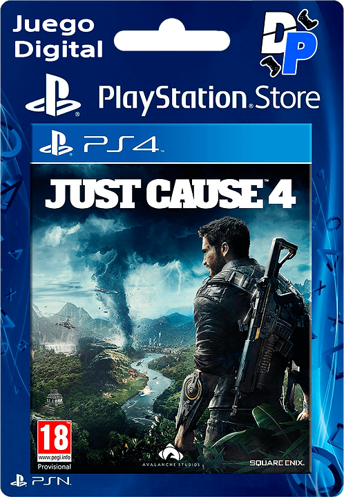 Just Cause 4 - Standard Edition Digital para PS4