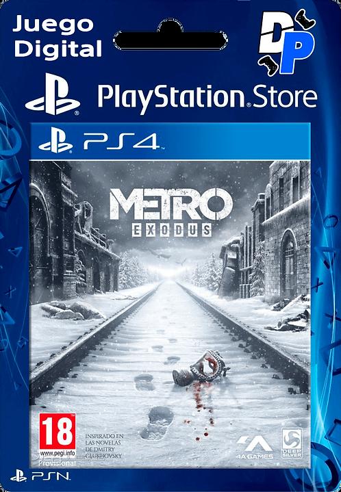 Metro Exodus Digital PS4