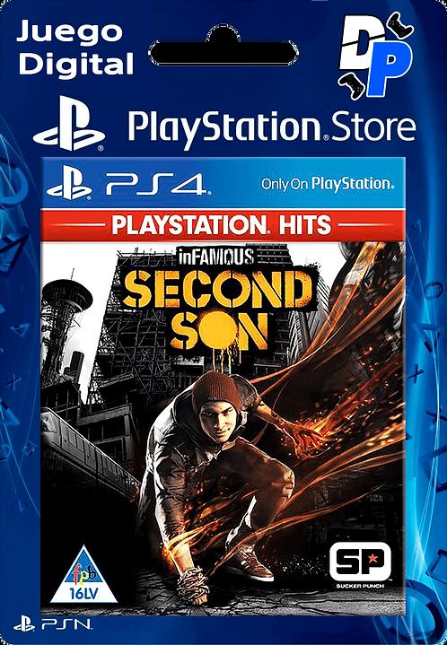 inFAMOUS Second Son Digital para PS4