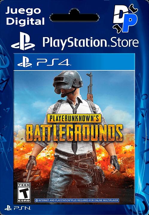 PLAYERUNKNOWN'S BATTLEGROUNDS (PUBG) Digital PS4