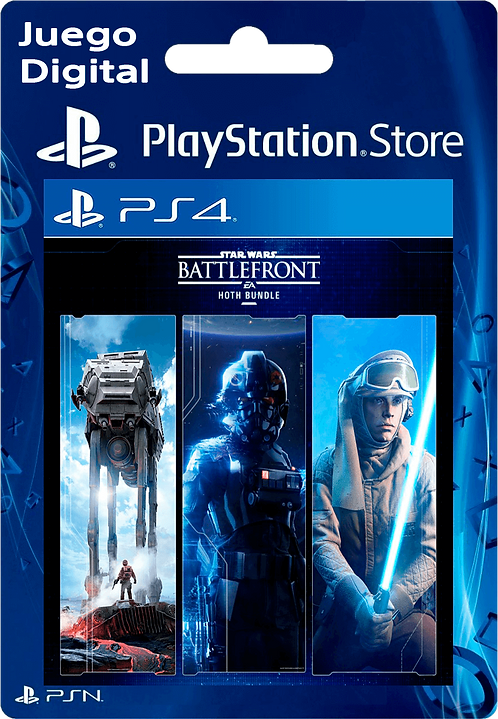 Paquete STAR WARS Battlefront: Hoth Digital PS4