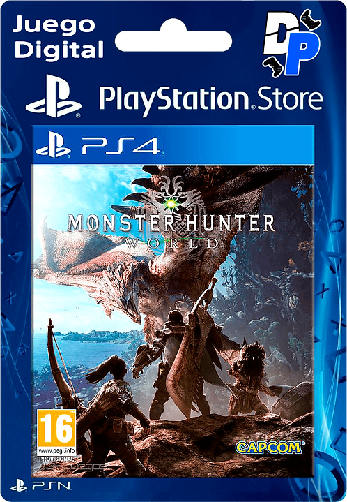 MONSTER HUNTER WORLD Digital para PS4