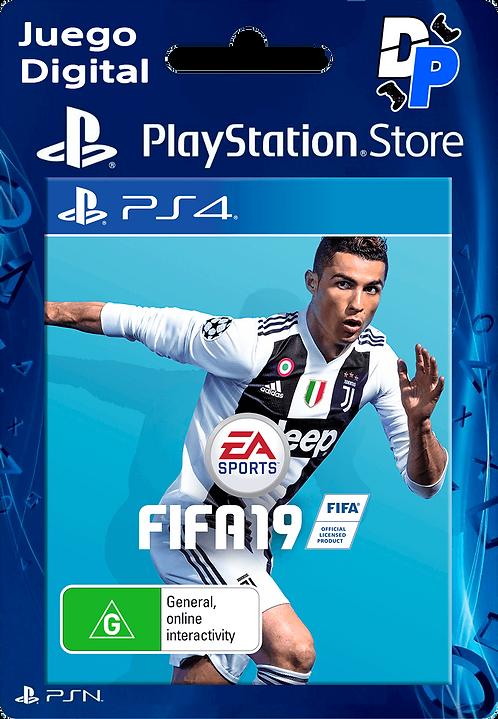FIFA 19 Digital para PS4