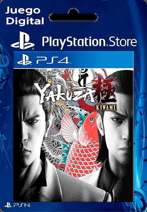 Yakuza Kiwami Digital para PS4