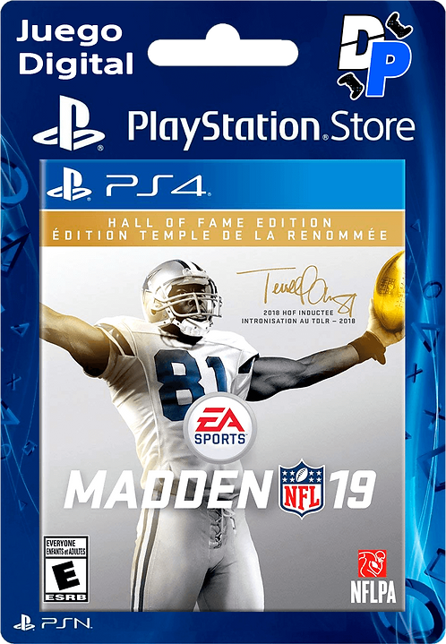 Madden NFL 19: Edición Hall of Fame Digital para PS4