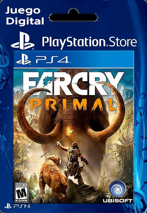 Far Cry Primal Digital para PS4