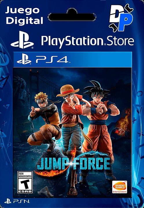 JUMP FORCE Digital PS4