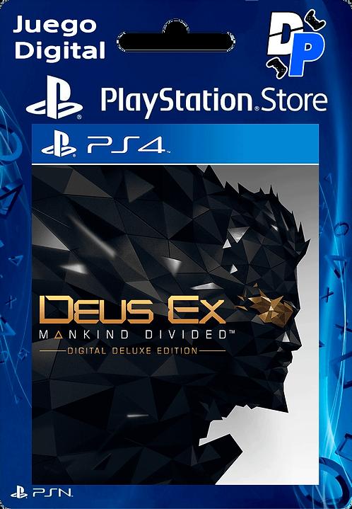 Deus Ex: Mankind Divided - Edición digital de lujo Digital para PS4