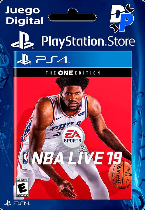 NBA LIVE 19: EDICIÓN THE ONE para PS4