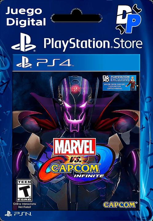 Marvel vs. Capcom: Infinite - Deluxe Edition Digital para PS4