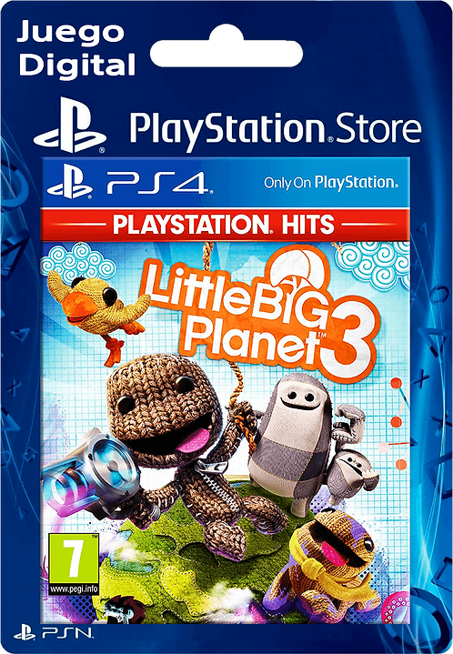 LittleBigPlanet 3 Digital para PS4