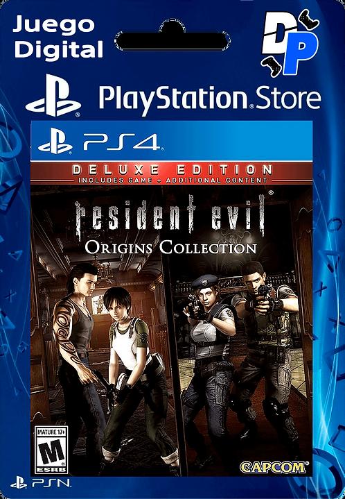 Resident Evil: Deluxe Origins Bundle Digital para PS4
