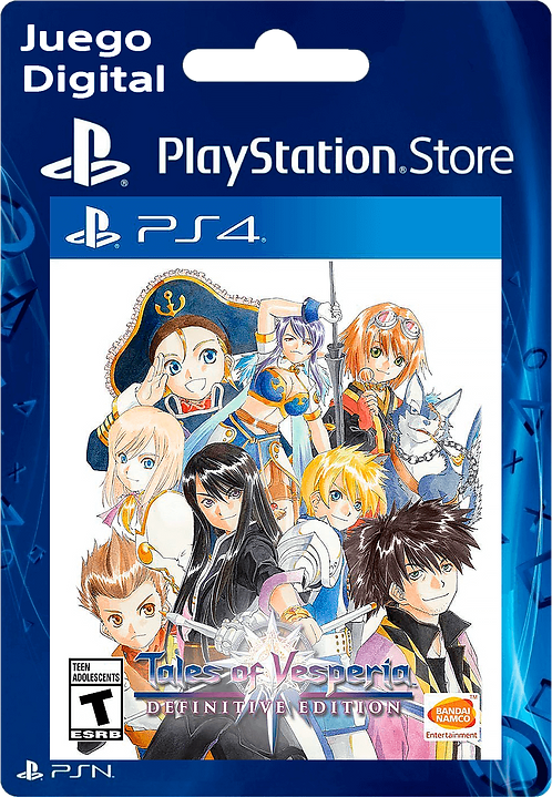 Tales of Vesperia: Definitive Edition Digital PS4