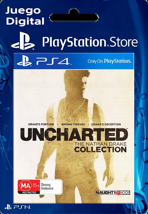 UNCHARTED The Nathan Drake Collection Digital para PS4