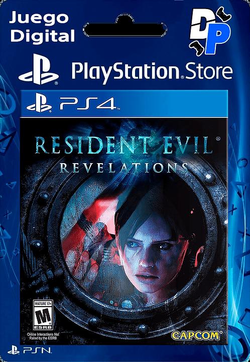 RESIDENT EVIL REVELATIONS Digital para PS4