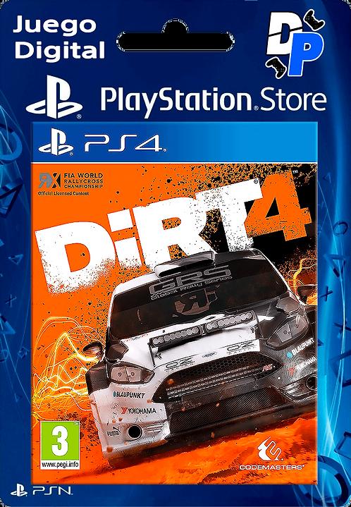 DiRT 4 Digital para PS4