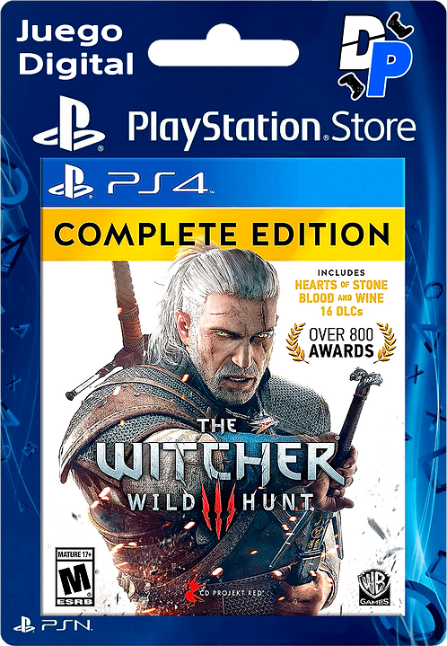 The Witcher 3 Wild Hunt – Complete Edition Digital para PS4