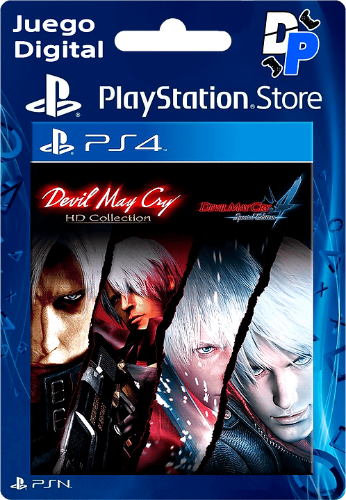 Devil May Cry HD Collection & 4SE Bundle Digital para PS4