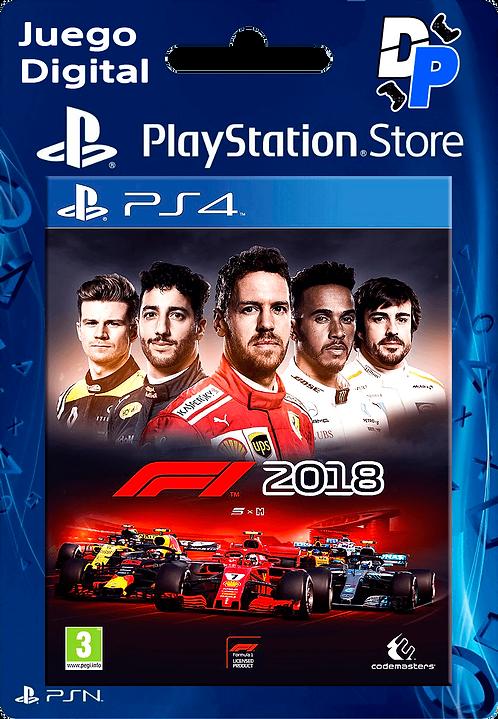 F1 2018 Digital para PS4