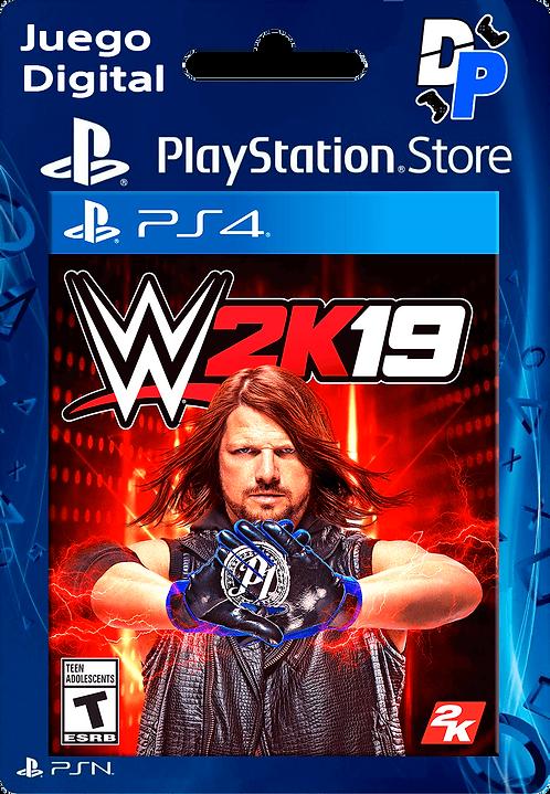WWE 2K19 Juego Digital para PS4