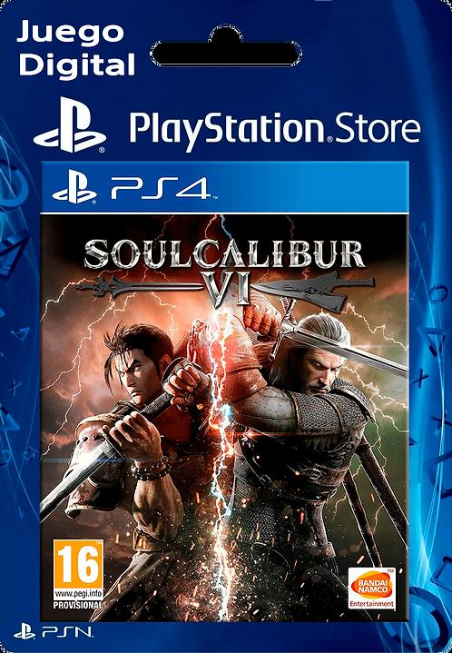 SOULCALIBUR VI Digital para PS4