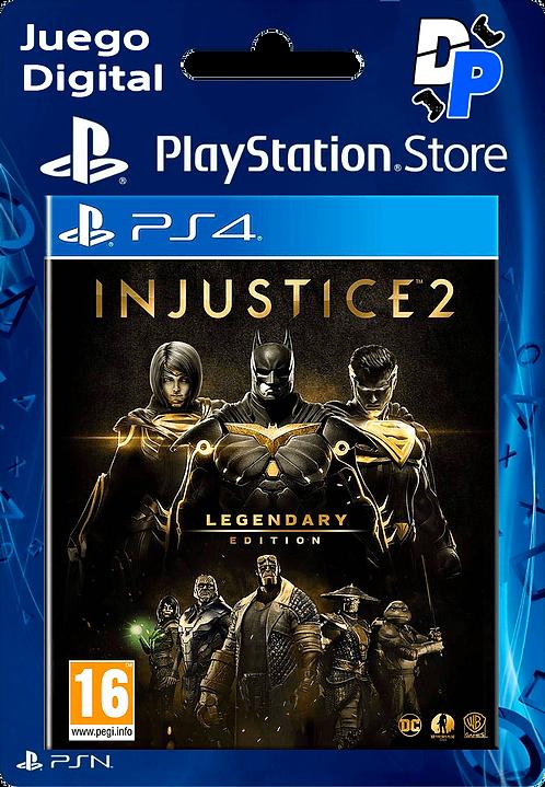 Injustice 2 - Legendary Edition Digital para PS4