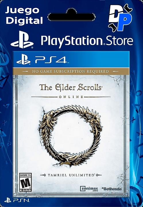 The Elder Scrolls Online Juego Digital para PS4