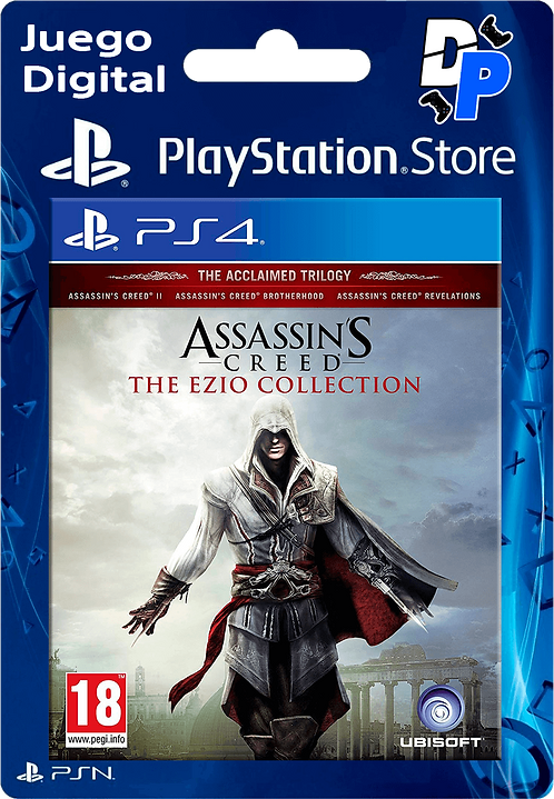 Assassin's Creed The Ezio Collection Digital para PS4