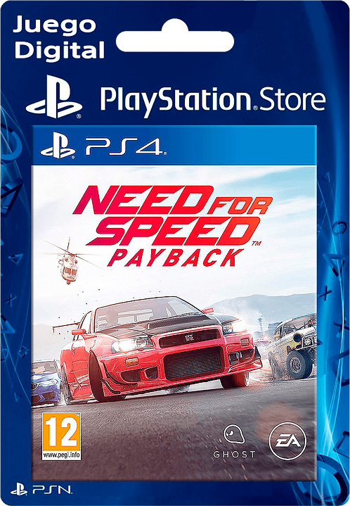 Need for Speed Payback Digital para PS4