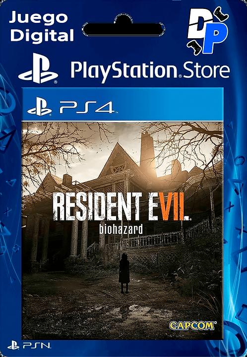RESIDENT EVIL 7 biohazard Digital para PS4