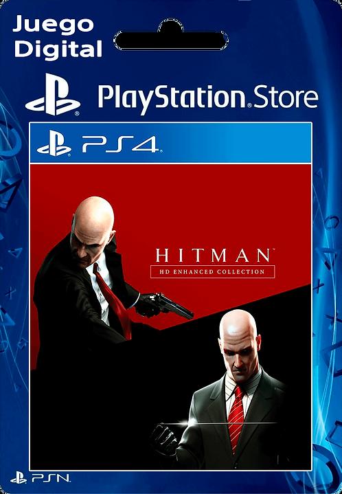 Colección Mejorada Hitman HD Digital para PS4