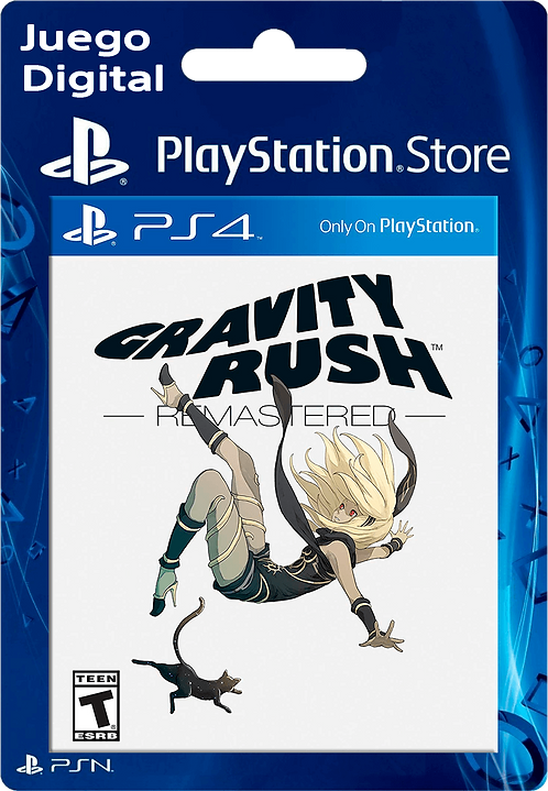 Gravity Rush Remastered Digital para PS4