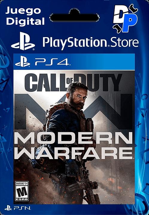 Call of Duty: Modern Warfare Digital para PS4