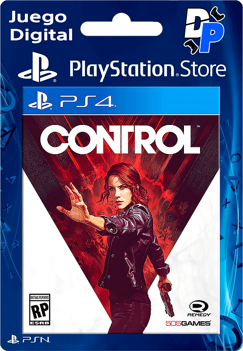 Control Pre-Order Edition Digital PS4