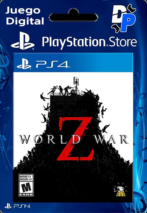 World War Z Digital para PS4