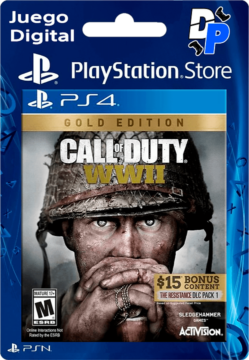 Call of Duty: WWII Gold Edition Digital PS4