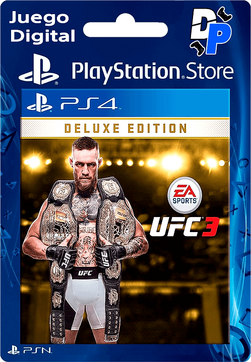 UFC 3 Deluxe Edition Digital para PS4
