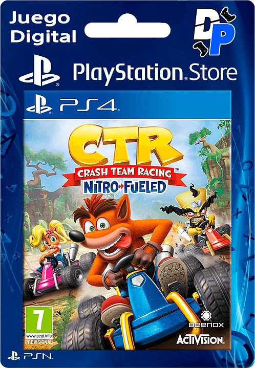 Crash Team Racing Nitro-Fueled Digital PS4