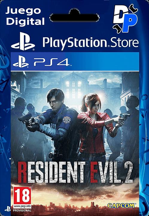 RESIDENT EVIL 2 Digital para PS4