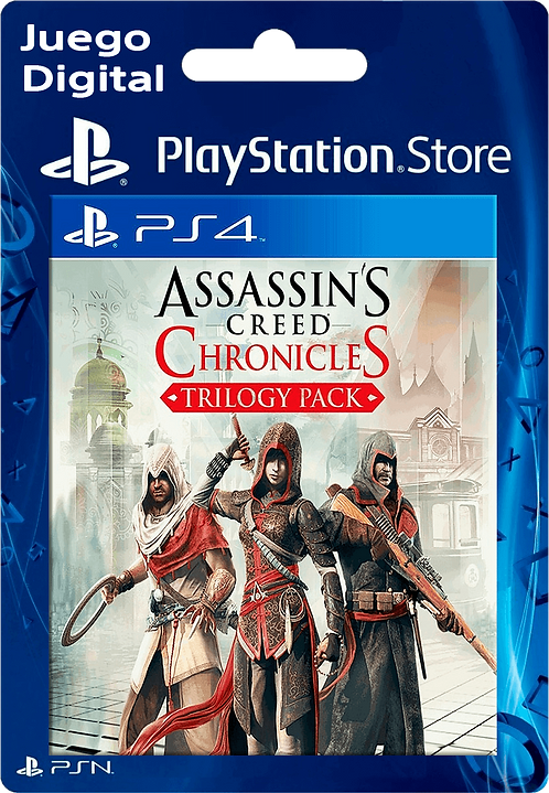 Assassin's Creed Chronicles Trilogy Digital para PS4