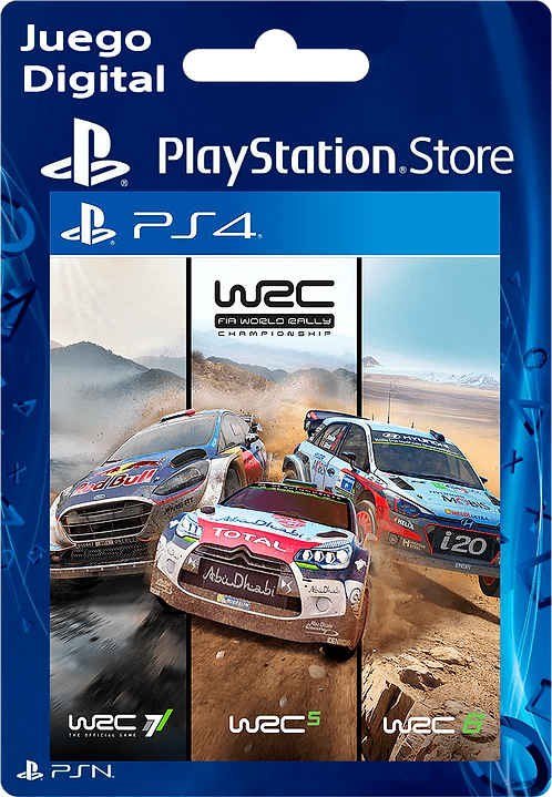WRC Collection Digital para PS4