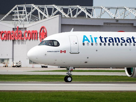 Air Canadá y Transat ponen fin a su acuerdo