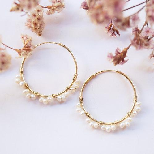 Aros Mini Perlas